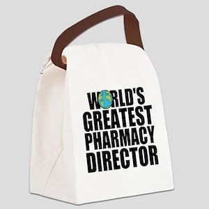 World's Greatest Pharmacy Director Canvas Lunc
