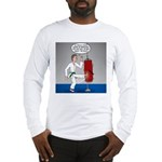 Karate Kick Dilemma Long Sleeve T-Shirt