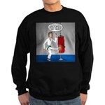 Karate Kick Dilemma Sweatshirt (dark)
