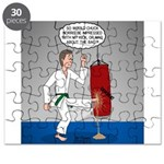 Karate Kick Dilemma Puzzle