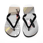 Airplane Exit Flip Flops