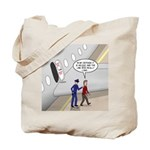 Airplane Exit Tote Bag