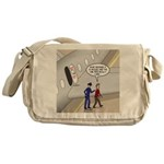 Airplane Exit Messenger Bag