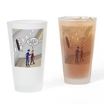Airplane Exit Drinking Glass