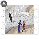Airplane Exit Puzzle
