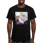 Airplane Ticket Issue Men's Fitted T-Shirt (dark)