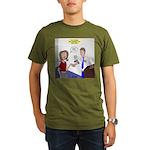 Airplane Ticket Issue Organic Men's T-Shirt (dark)