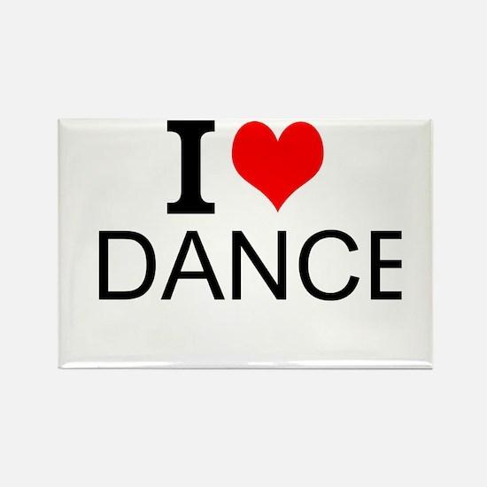 I Love Dance Magnets