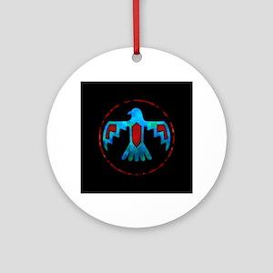 Thunderbird Round Ornament