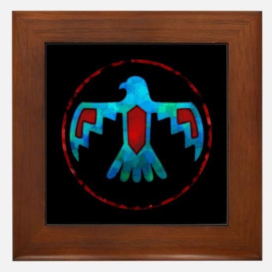 Thunderbird Framed Tile