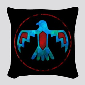 Thunderbird Woven Throw Pillow
