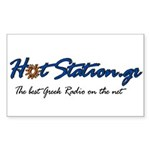 HotStation Rectangle Sticker