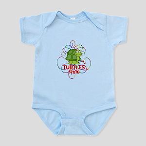 Turtles Rule Infant Bodysuit