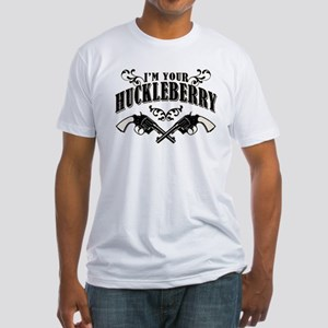 Deadwood Huckleberry Fitted T-Shirt
