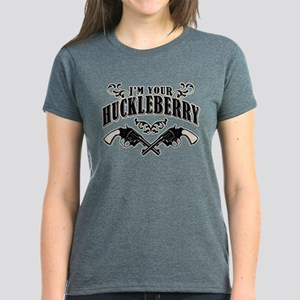 Deadwood Huckleberry Women's Dark T-Shirt