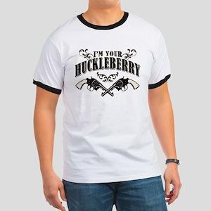 Deadwood Huckleberry Ringer T