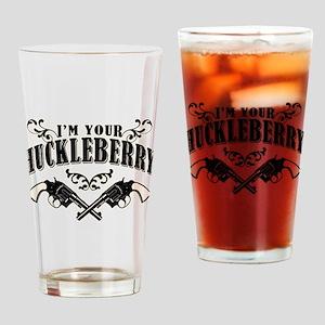 Deadwood Huckleberry Drinking Glass