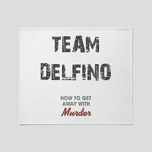 TEAM DELFINO Throw Blanket
