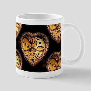 heart steampunk Mugs
