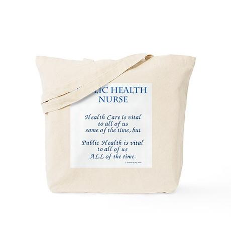 Public Health Nurse Tote Bag