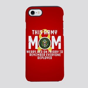 Army Mom Wears RED iPhone 8/7 Tough Case