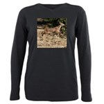 Flying Fawn Plus Size Long Sleeve Tee