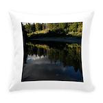 Eel River Reflection Scene Everyday Pillow