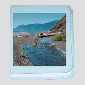Shelter Cove Beach baby blanket