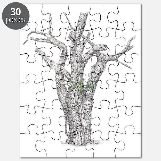 Tree Animals Puzzle