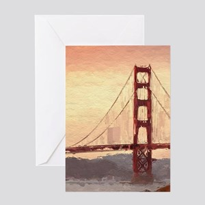 Golden Gate Bridge Inspiration Greeting Cards