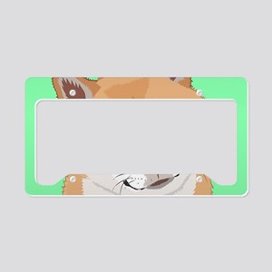 Shiba Inu License Plate Holder