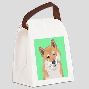 Shiba Inu Canvas Lunch Bag