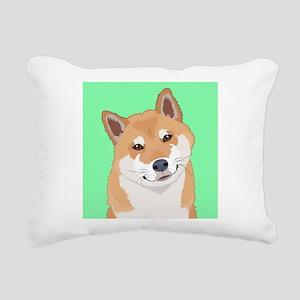 Shiba Inu Rectangular Canvas Pillow