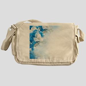 Beautiful Floral Messenger Bag