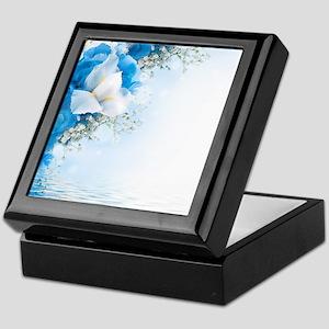 Beautiful Floral Keepsake Box