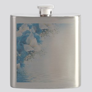 Beautiful Floral Flask