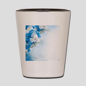 Beautiful Floral Shot Glass