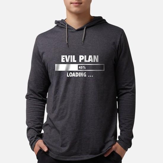 Evil Plan Loading Long Sleeve T-Shirt