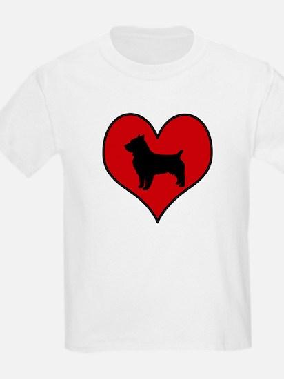 Australian Terrier heart T-Shirt