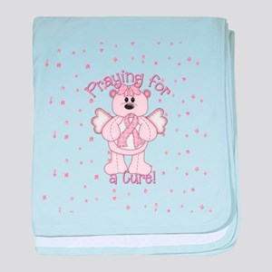 Praying For A Cure baby blanket