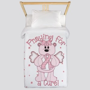 Praying For A Cure Twin Duvet