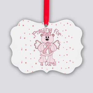 Praying For A Cure Picture Ornament
