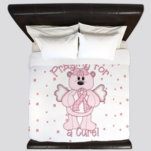 Praying For A Cure King Duvet
