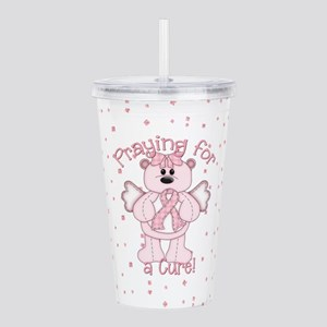 Praying For A Cure Acrylic Double-wall Tumbler