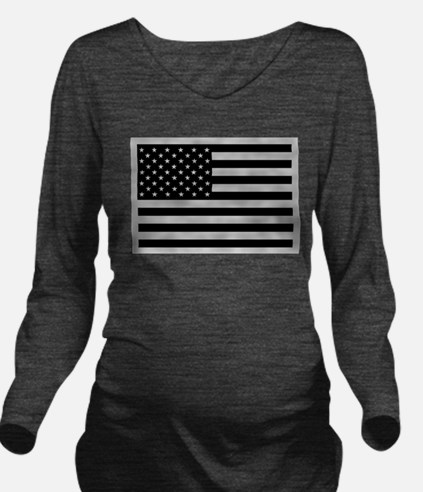 Unique Military Long Sleeve Maternity T-Shirt