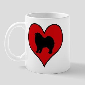 Samoyed heart Mug