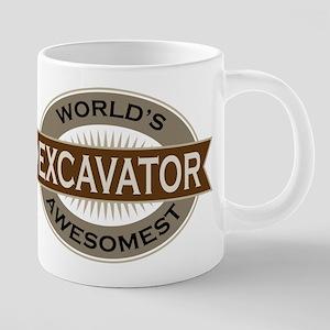 Excavator (Awesome) Mugs