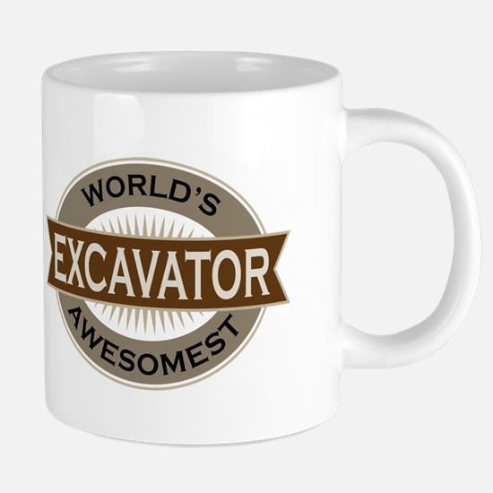 Excavator (Awesome) Mugs