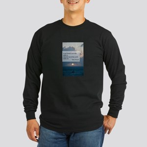 What a Real Friend Is Long Sleeve Dark T-Shirt
