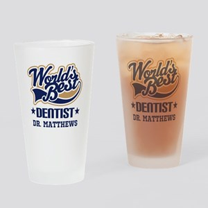 Dentist Personalized Gift Drinking Glass